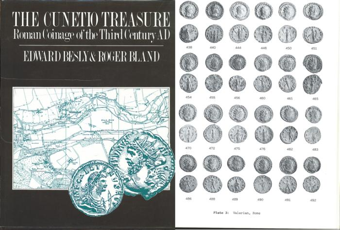 Ancient Coins - The Cunetio Treasure - Roman Coinage of the Third Century AD by E. Besly and R. Bland -  Ex Bruce R. Brace Library
