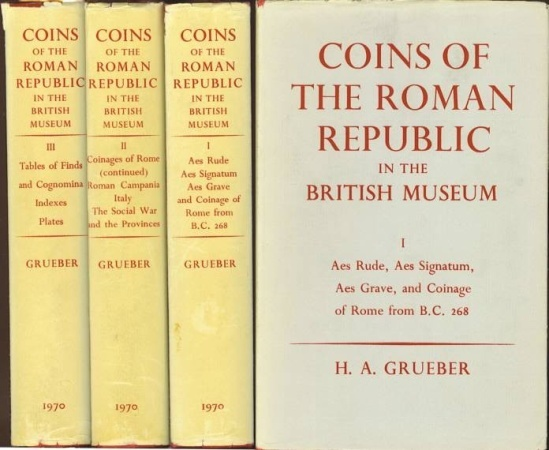 Coins Of The Roman Republic In The British Museum By H A