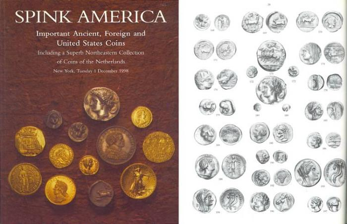 Ancient Coins - SPINK America - Important Ancient, Foreign and United States Coins Including Superb Northeastern Collection of Coins of the Netherlands - 1 December, 1998 - Coins from Haiti