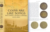 Coins Are Like Songs: The Upper Canada Coppers, 1815-1841 by Christopher Faulkner - Just Published