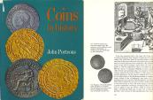 Ancient Coins - Coins in History - A survey of coinage from the Reform of Diocletian to the Latin Monetary Union by John Porteous - Ex Bruce R. Brace Library