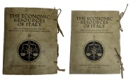Ancient Coins - The Economic Resources of Italy: Their Development During the Last Twenty-Five Years and their Present Condition Volume I and Volume II