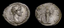 Ancient Coins -  Commodus As Caesar, AD 166-177, AR Denarius (20 mm, 2.86 g, 6h), Rome mint, Struck AD 177 aVF