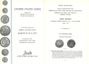 Ancient Coins - Stack's Public Auction Sale - March 29, 30, 31, 1973 - United States Coins - Properties of Massachusetts Historical Society and Other Select Consignments