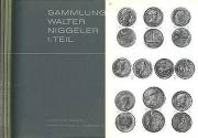 Ancient Coins - NIGGELER Auctions - Sammlung Walter Niggeler - Part 1, 3 and 4 by Bank Leu & Münzen und Medaillen AG - Missing Volume 2