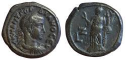 Ancient Coins - Roman Egypt, Alexandria, Gordian III, 238-244 AD, Potin Tetradrachm (23mm, 12.72 g., 12h) Good VF+