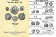 Ancient Coins - Classical Numismatic Auctions Ltd. CNA 15 - CNG XV - June 5, 1991, - Auction Catalogue