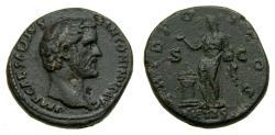 Ancient Coins - Antoninus Pius, As Caesar, A.D. 138, Æ As (25 mm, 13.25 gm., 6h) Rome mint, Struck circa A.D. 138 Good VF, Very Rare Early Issue