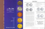 Us Coins - Ira and Larry Goldberg - The Dr. Jon Kardatzke Collection of United States Coins and Currency - February 6-8, 2000