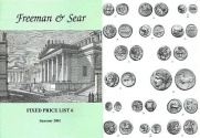 Ancient Coins - Freeman & Sear, Fixed Price List #6, Summer 2001
