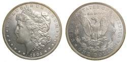 Us Coins - United States Moragan Silver Dollar 1904-O Choice Cameo BU New Orleans Mints
