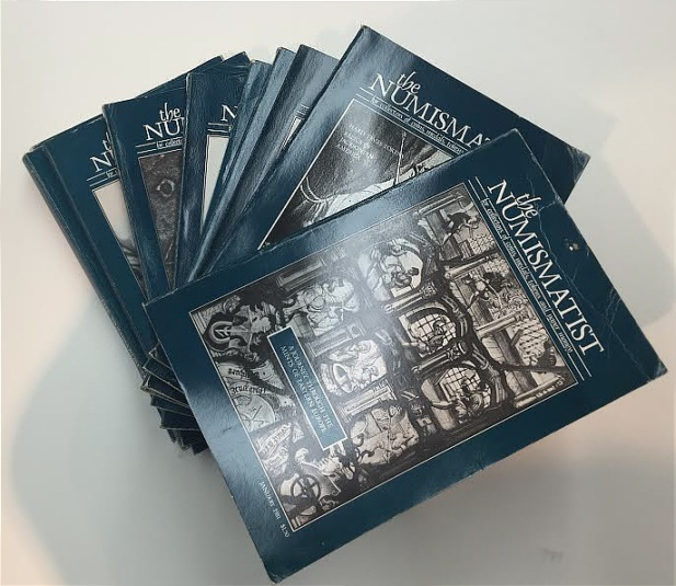 Ancient Coins - The Numismatist by The American Numismatic Association - Complete Set of 12 Monthly Issues for 1981.