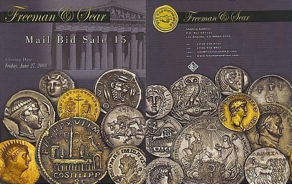Ancient Coins - Freeman & Sear, Mail Bid Sale 15, June 27, 2008 - Greek Roman Coins