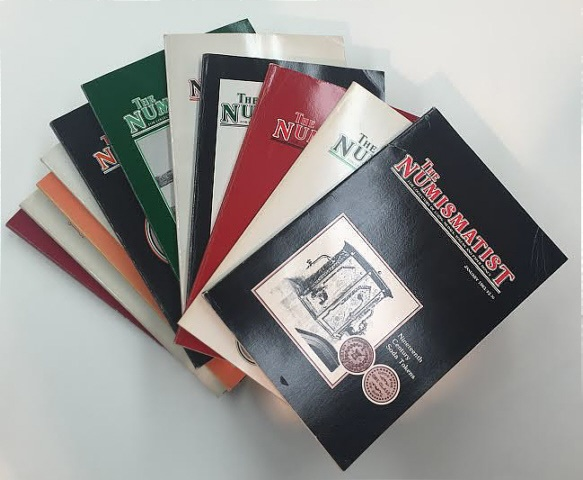 Ancient Coins - The Numismatist by The American Numismatic Association - Complete Set of 12 Monthly Issues for 1983.