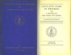 Ancient Coins - Rare - Sixty-five Years of Progress and a Record of New York City Banks (The Rise of Commercial Banking) by Jaffray Peterson (1935)