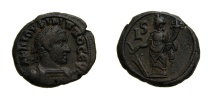 Ancient Coins - EGYPT, ALEXANDRIA, PHILIP I; I Billon Tetradrachm of Alexandria YR 6 (23 MM, 13.71 GM, 12 H) Choice VF, Ex-CNG