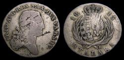 Ancient Coins - Poland 1813 Grand Duchy of Warsaw 1/3 Talara .625 .174 Oz. Scarce KM#86 Fine/VF 6352