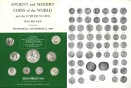 Ancient Coins - Stack's - Coin Galleries - Mail Bid Sale - November 15, 1989 - Ancient and Modern Coins of the World and the United States - Amon Carter Collection of World Coins and US Errors an