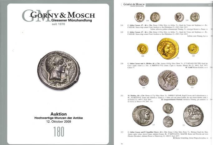 Ancient Coins - Gorny & Mosch Giessner Munzhandlung - Auction 180 - October 12, 2009 - Ancient Coins
