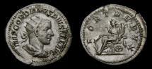 Gordian III, A.D. 238-244, AR Antoninianus (23 mm, 4.28 gm., 6h), Rome, Struck A.D. 243/244