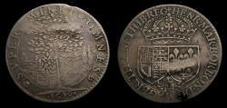 World Coins - Charles 1 1628 Tribute to Queen Henrietta Maria Silver Medallic Counter Fearon 71.1 EIMER 110 Rare F/VF