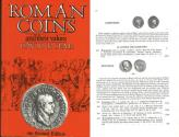 Ancient Coins - Roman Coins and Their Values by David R. Sear 1988 4th Edition