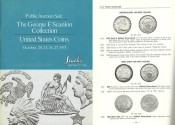 Us Coins - Stack's Public Auction Sale - October 24-27, 1973 - The George F. Scanlon Collection of United States Coins - Choice Collection of BU's and Proofs