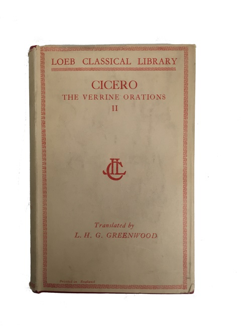 Cicero, Against Verres, 2.1.53-86: Latin Text with Introduction, Study Questions