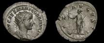 Gordian III, A.D. 238-244, AR Antoninianus (24 mm, 3.82 gm.,1h), Rome, Struck A.D. 238/239