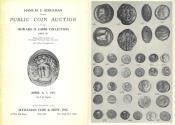 Hans M. F. Schulman, Public Coin Auction, April 6-7, 1971, Howard D. Gibbs Collection Part IV - Coins - Gold Coins, Ancient Coins, Antiquities, Primitive Money