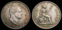 World Coins - Great Britain William IV. 4 Pence 1836 S-3837 KM. 711 UNC
