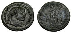 Ancient Coins - MAXIMINUS II, 310-313 AD. Æ Follis (25 mm, 6.45 gm., 11h), Cyzicus mint, Struck 311 A.D.Good VF