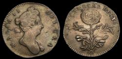 Ancient Coins - Great Britain c. 1689 William & Mary AR Medal by Roettier Ex. Candore Decus Mi. P. 695 #93 Rare Good VF