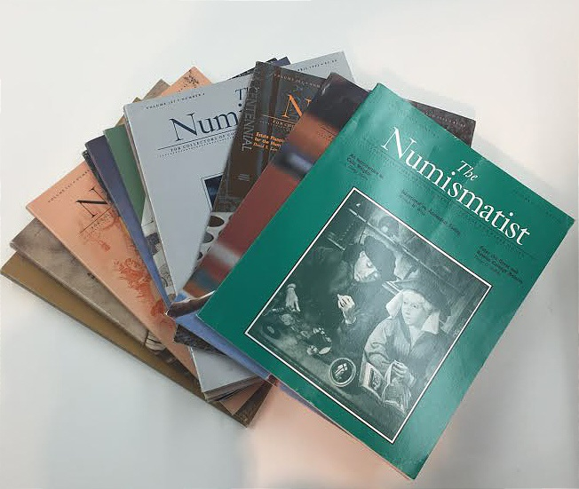 Ancient Coins - The Numismatist by The American Numismatic Association - Complete Set of 12 Monthly Issues for 1992
