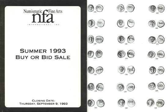 Ancient Coins - Numismatic Fine Arts NFA Summer Buy or Bid Sale - September 9, 1993 - Greek, Roman and Byzantine Coins - Venetian Gold