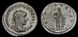 Ancient Coins - Gordian III, A.D. 238-244, AR Antoninianus (23 mm, 4.28 gm., 1h), Rome, Struck A.D. 241-243, gVF