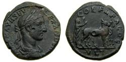 Ancient Coins - THRACE, Deultum, Severus Alexander 222-235 A.D. Æ (23 mm, 7.29 gm., 12h) Good VF