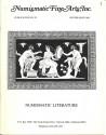 Ancient Coins - NFA - Numismatic Fine Arts, Publication No. 25, Winter Issue 1983 - Numismatic Literature