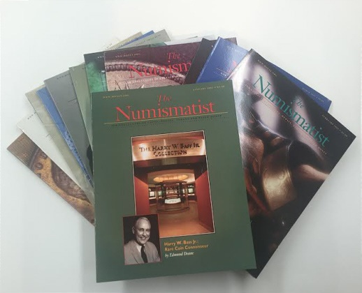 Ancient Coins - The Numismatist by The American Numismatic Association - Complete Set of 12 Monthly Issues for 2002.