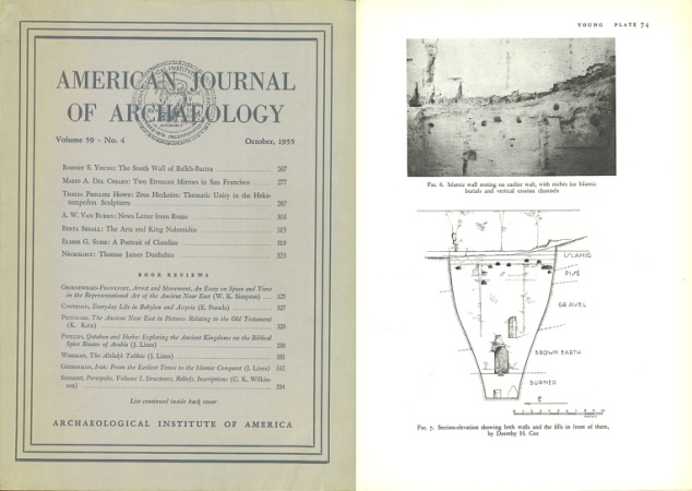 Ancient Coins - American Journal of Archaeology: October, 1955 - Volume 59, Number 4