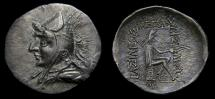 Ancient Coins - Kings of Parthia, Phraates I (168-164 BC) through to Mithradates I (164-132 BC), Period 165-148 BC, AR Drachm (20 mm, 4.19 gm, 12h) EF Rare