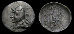 Ancient Coins - Kings of Parthia, Phraates I (168-164 BC) through to Mithradates I (164-132 BC), Period 165-148 BC, AR Drachm (20 mm, 4.19 gm, 12h) EF Rare