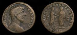 Ancient Coins - Lucius Verus, AD 161-169, Æ Sestertius (30 mm, 20.53 g, 11h), Rome mint, Struck AD 162 Fine+