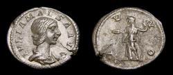 Ancient Coins - Julia Maesa. Augusta, AD 218-224/5. AR Denarius (20 mm, 2.38 g, 6h), Rome mint, Struck under Elagabalus, AD 218-220 VF