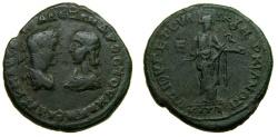 Ancient Coins - MOESIA INFERIOR, Marcianopolis, Elagabalus, with Julia Maesa, A.D. 218-222, Æ Pentassarion (26 mm, 7.56 gm., 6h) Near VF