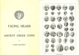 Facing Heads on Ancient Greek Coins by Agnes Baldwin