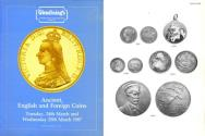 Ancient Coins - Glendining - March 24-25, 1987 - Ancient, English and Foreign Coins - Crowns