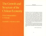Ancient Coins - The Growth and Structure of the Chilean Economy: From Independence to Allende by Markos J. Mamalakis