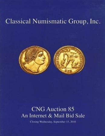 Ancient Coins - CNG Auction Sale 85 - 15 September, 2010 - Greek, Roman, Byzantine and Medieval Coins