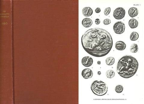 Ancient Coins - Numismatic Chronicle 1980 - Royal Numismatic Society RNS